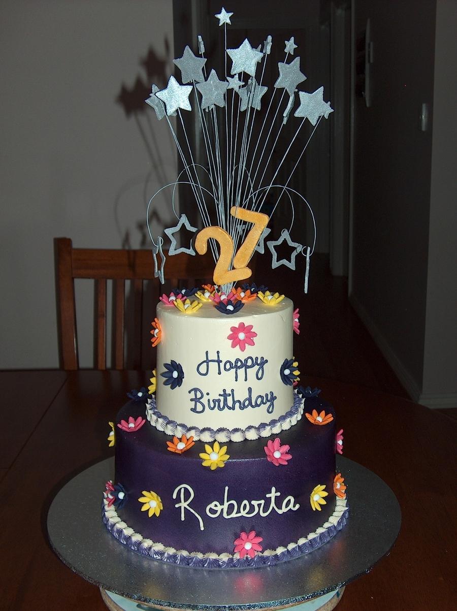 Excellent 27Th Birthday Cakecentral Com Funny Birthday Cards Online Necthendildamsfinfo