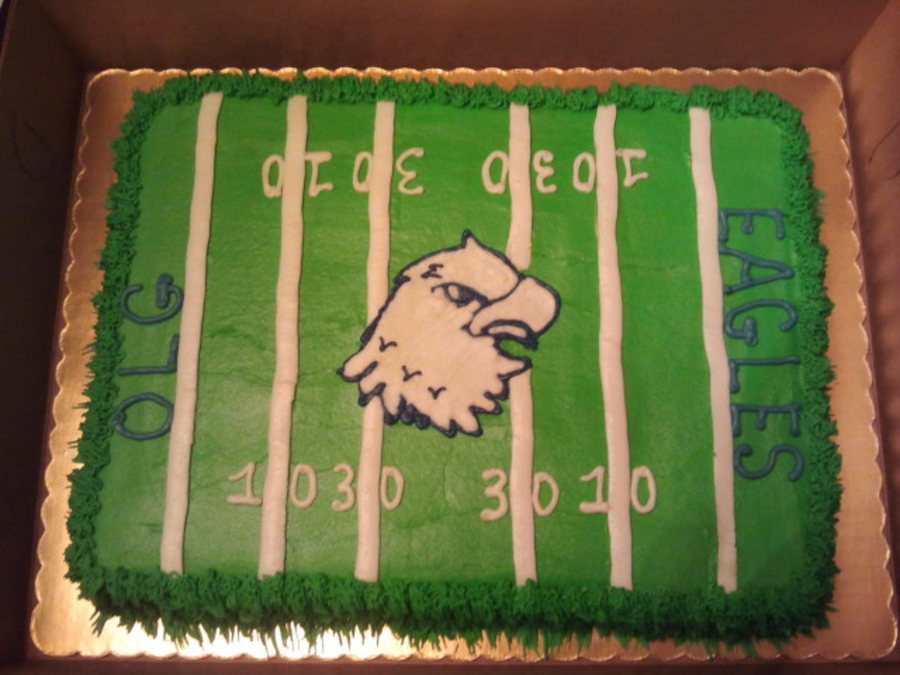 School Football Celebration on Cake Central