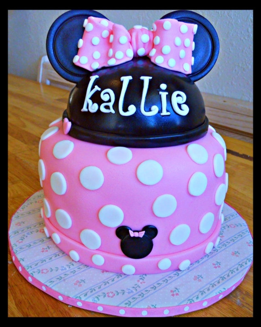 Minnie's First Birthday on Cake Central