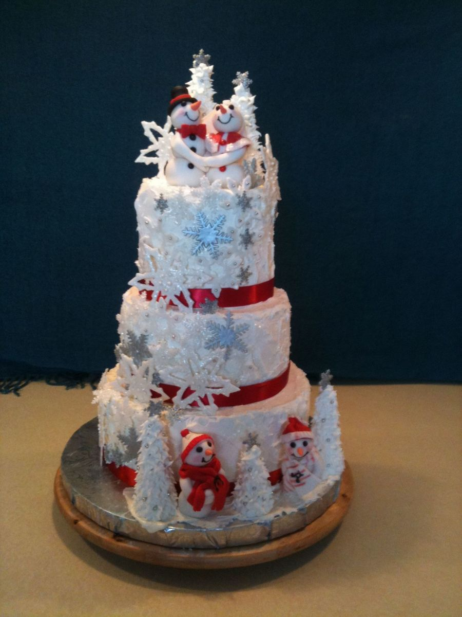 December Wedding on Cake Central