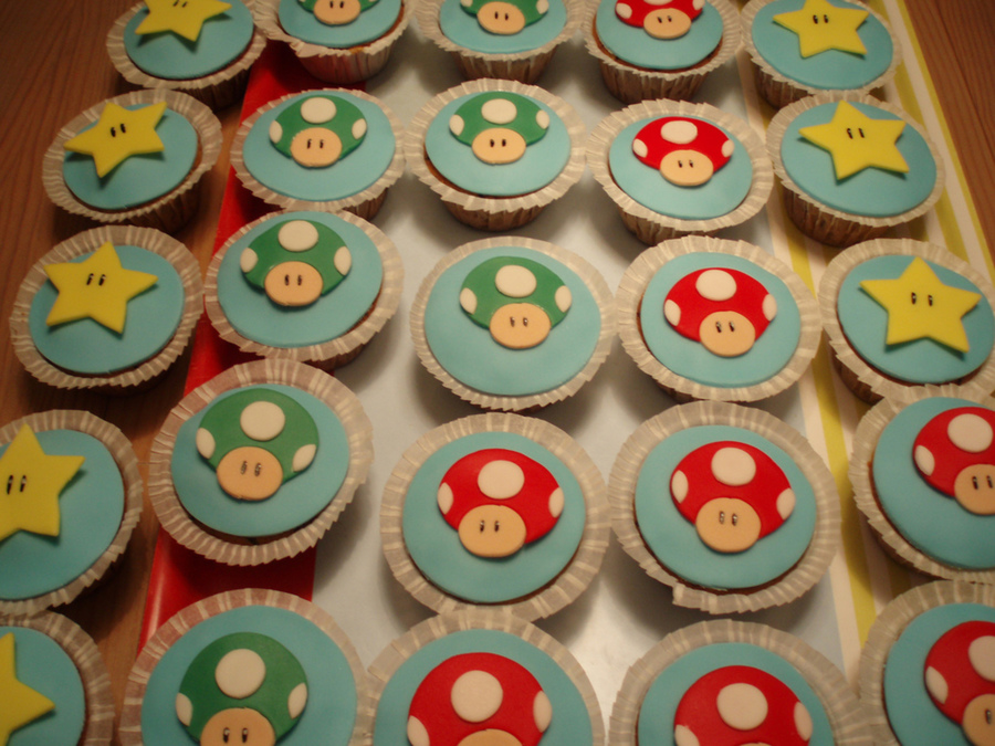 Super Mario Cupcakes on Cake Central