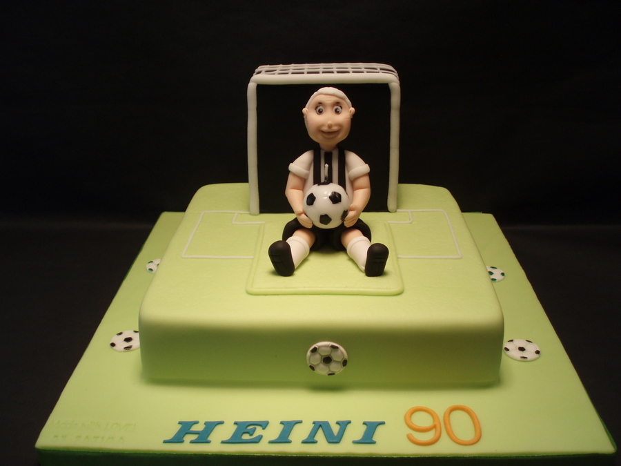 Soccer Player on Cake Central