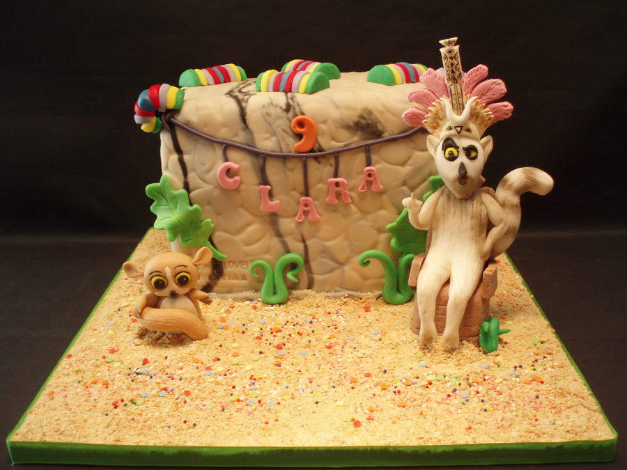 Madagascar 3 on Cake Central