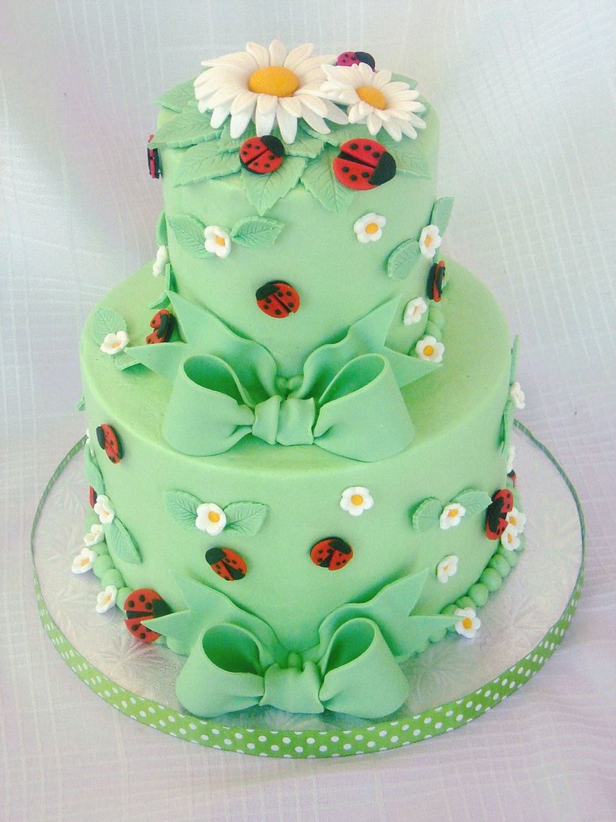 Ladybug Baby Shower Cake On Cake Central
