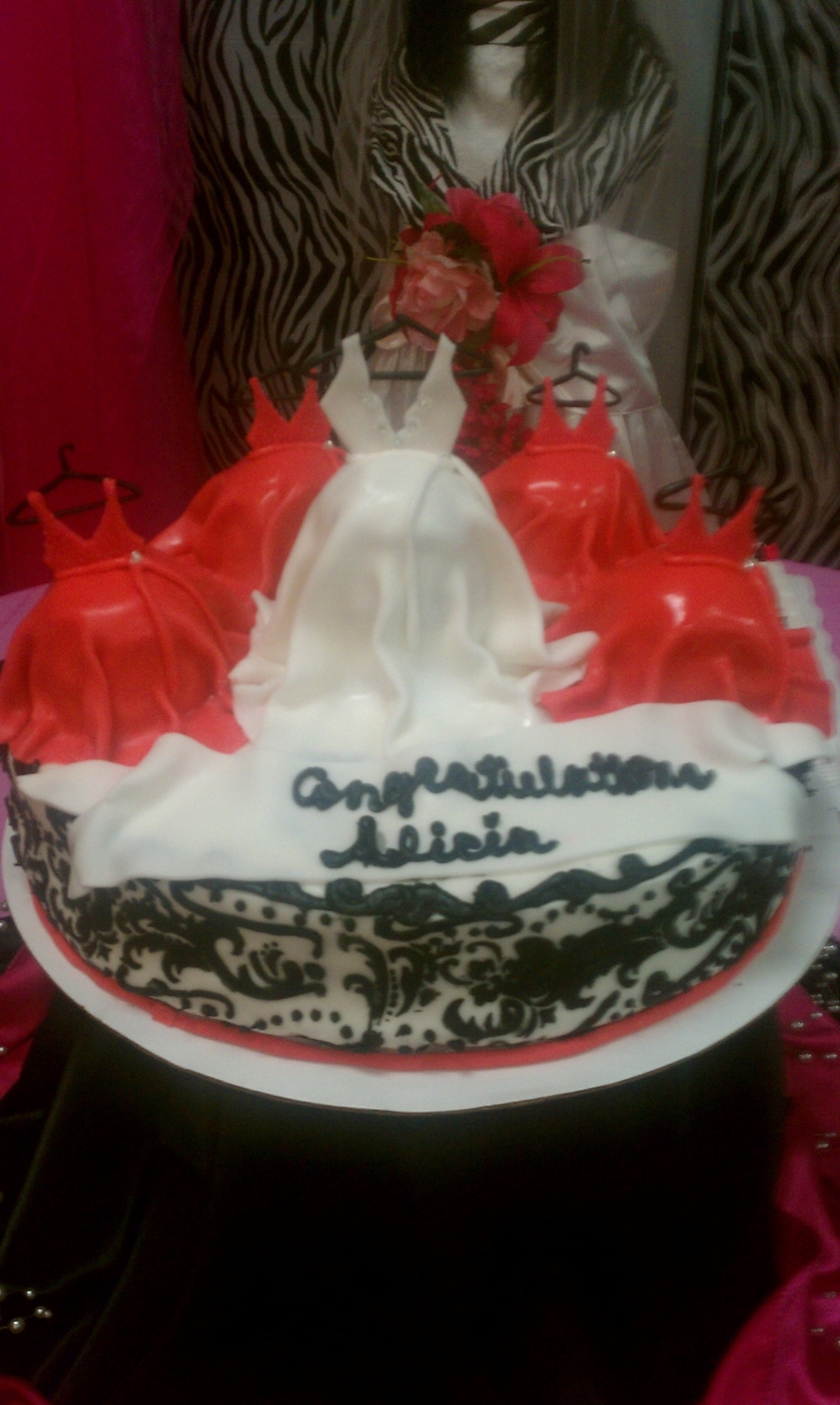 Wedding Party on Cake Central