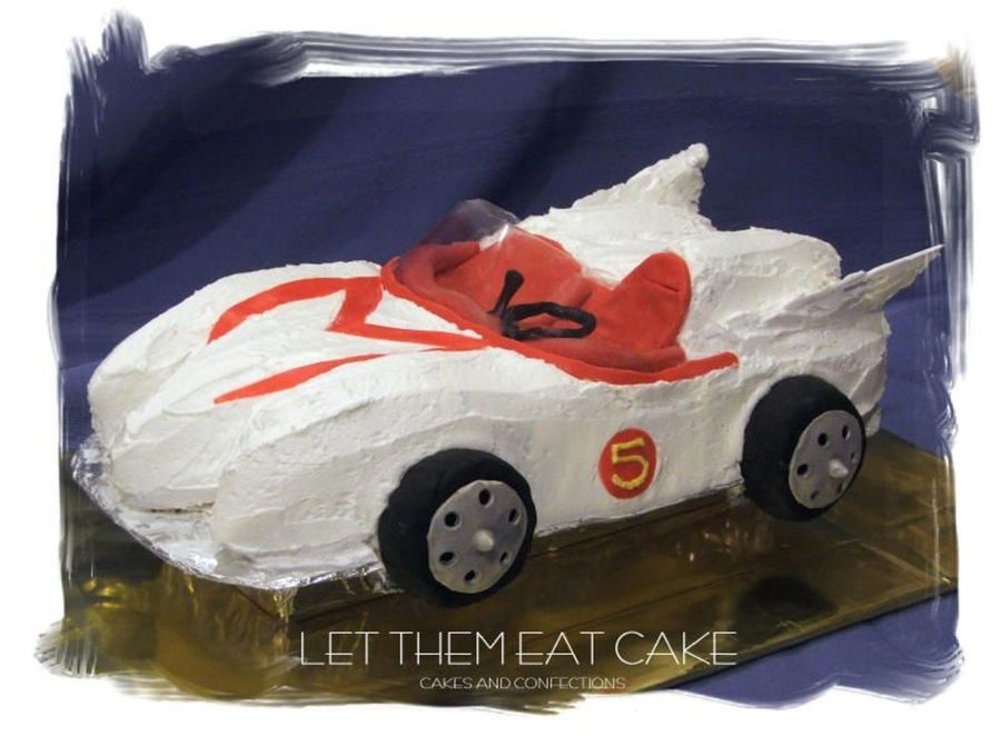 Speed Racer on Cake Central