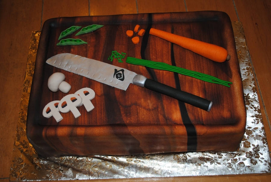 Cutting Board on Cake Central