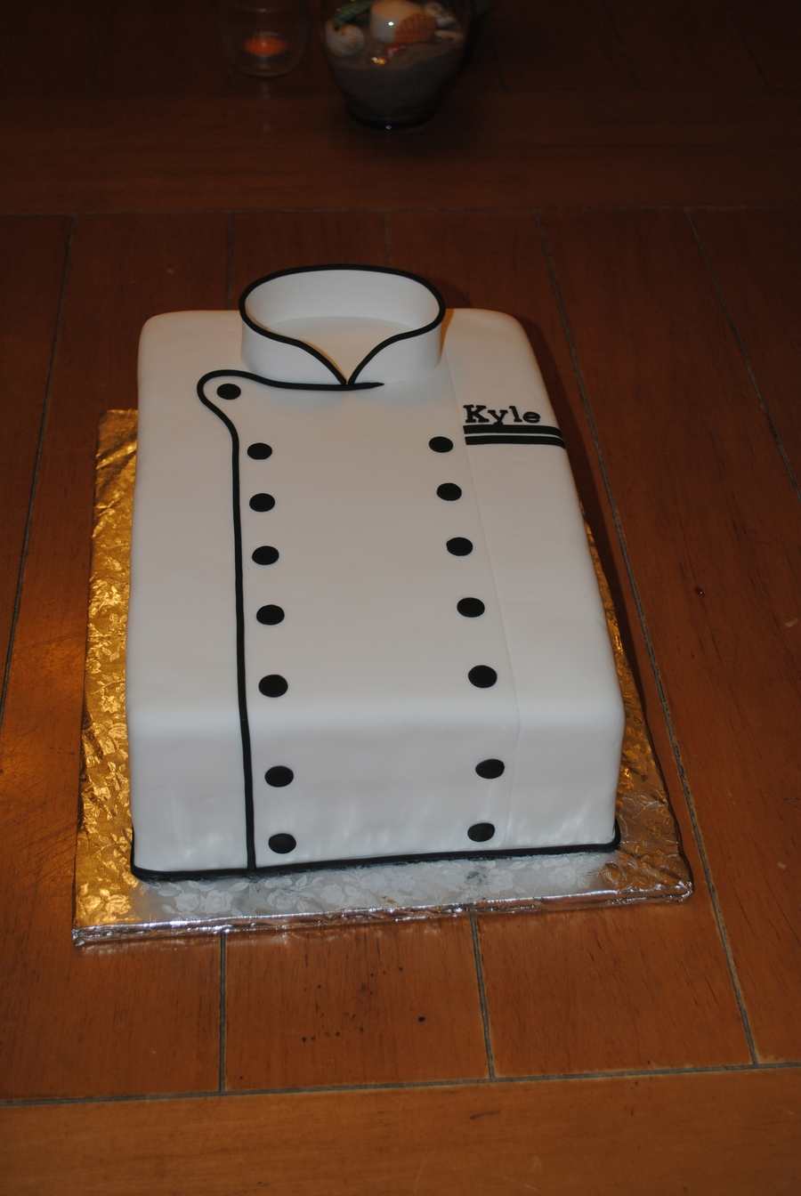 Chef's Coat on Cake Central