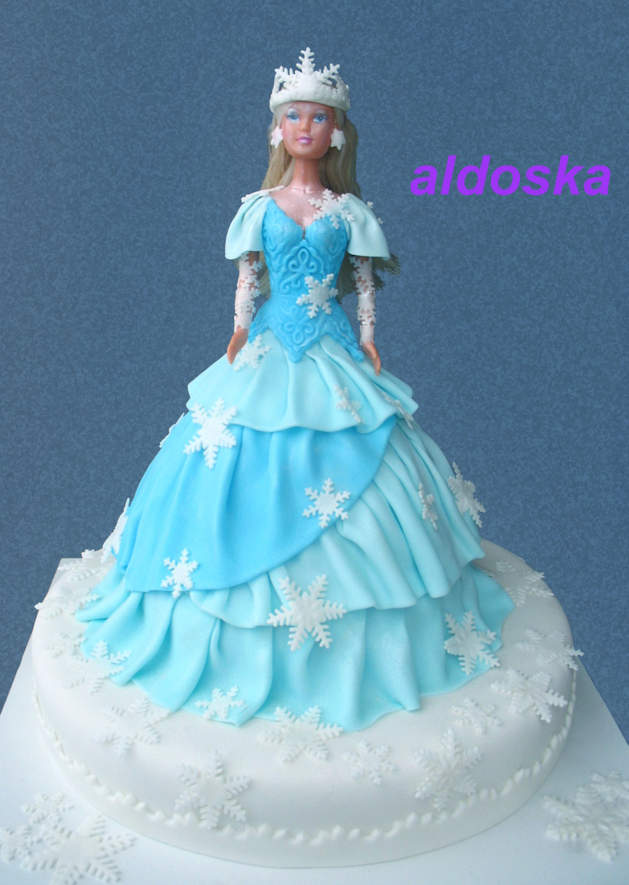 Snow Queen on Cake Central