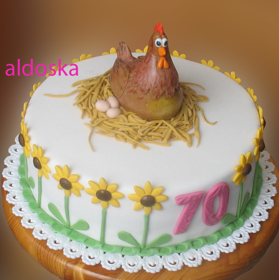 Hen on Cake Central
