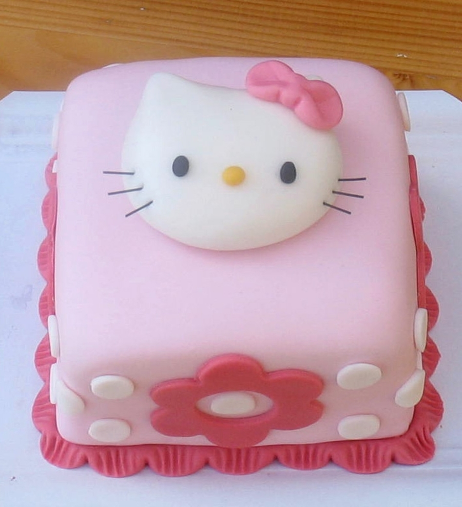 Hello Kitty Mini Cake on Cake Central