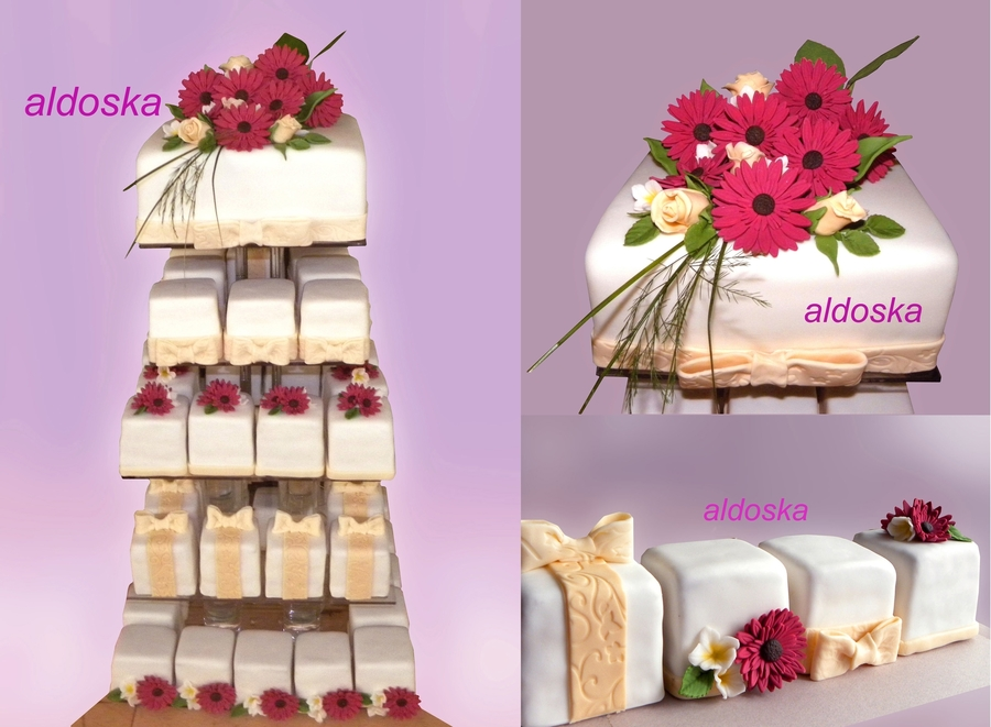 Wedding Tower on Cake Central