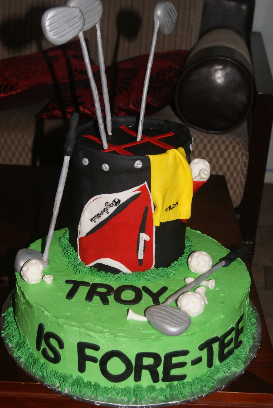 Golf - Forty on Cake Central