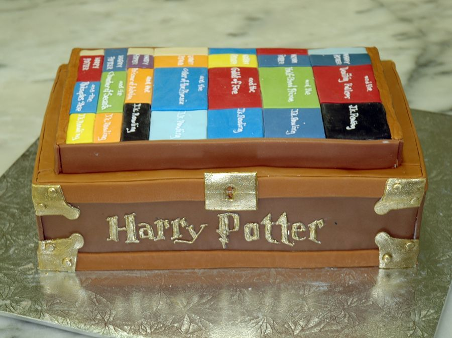Harry Potter Chest on Cake Central