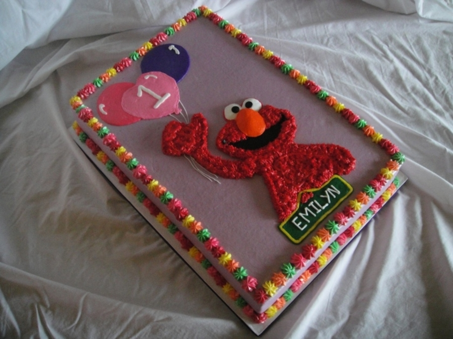 Elmo 1St Birthday CakeCentralcom