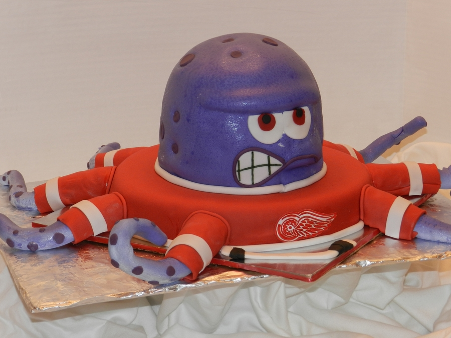 Detroit Red Wings Octopus on Cake Central