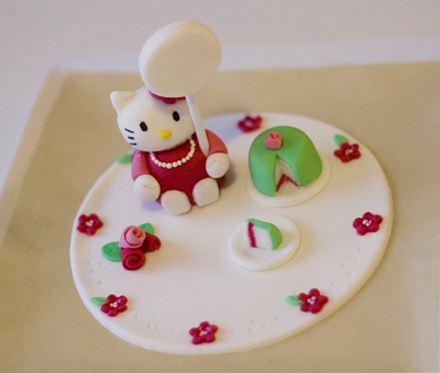 Hello Kitty Cake Topper  on Cake Central