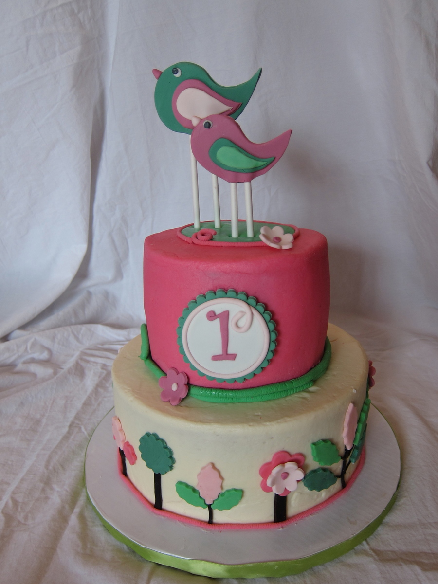 Awesome Bird Birthday Cake Cakecentral Com Personalised Birthday Cards Cominlily Jamesorg