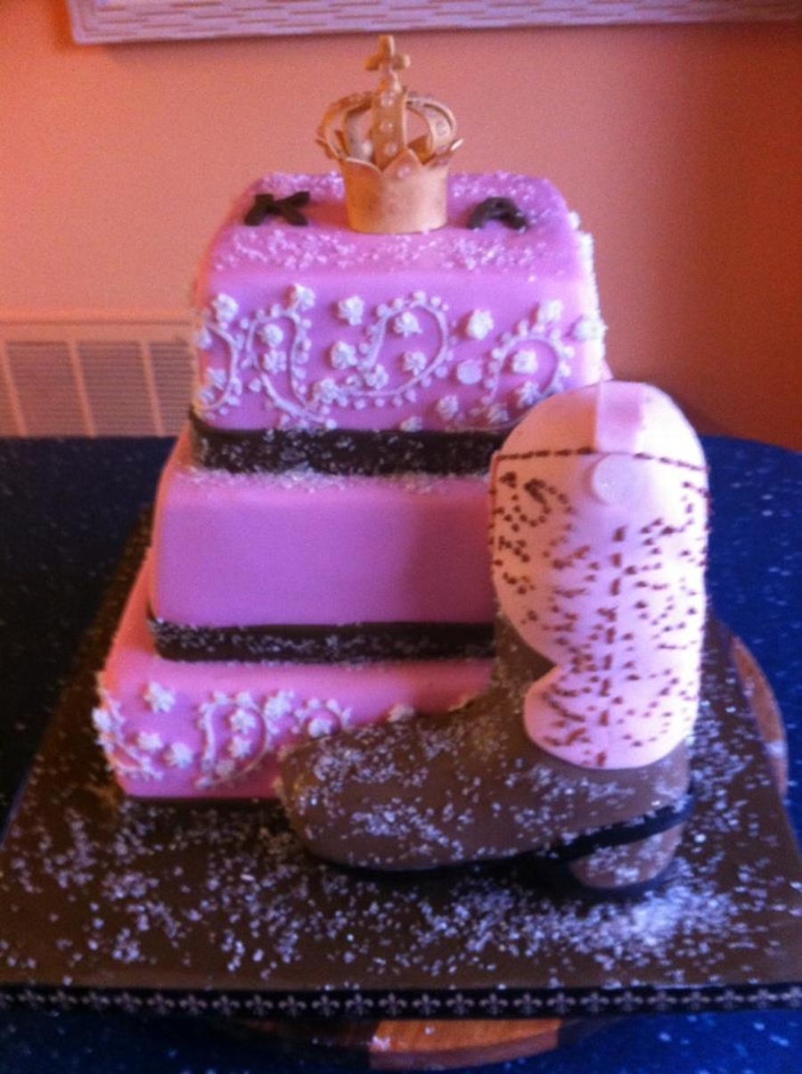 Queen For The Day - Cowgirl Bridal Shower on Cake Central