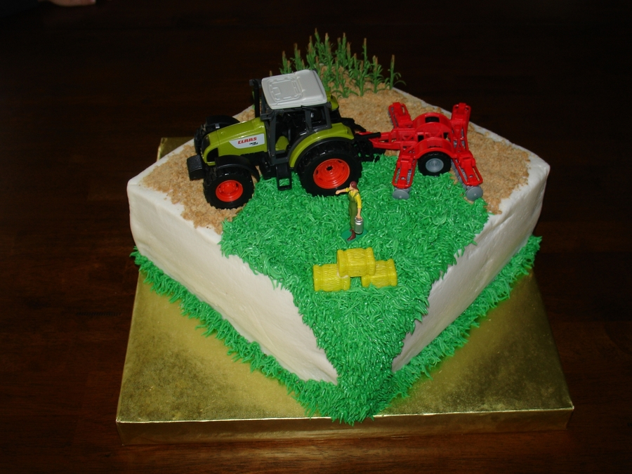 Tractor Bday on Cake Central