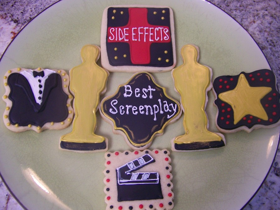 Made These For A Friend Who Helped Co Write And Produce The New Movie Side Effects  on Cake Central