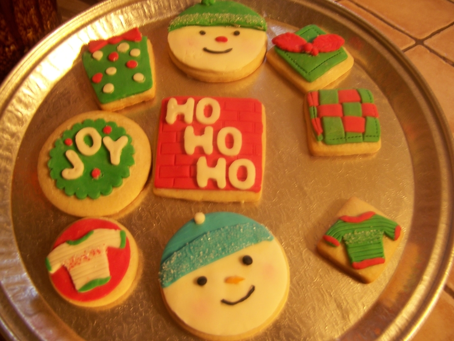 Holiday Cookies  on Cake Central
