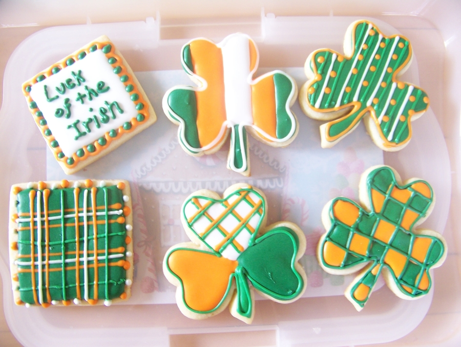 St. Patty's Day Cookies on Cake Central