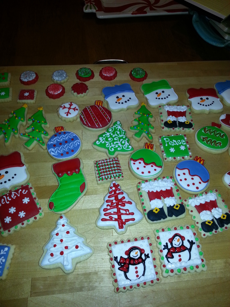 Christmas Cookies  on Cake Central