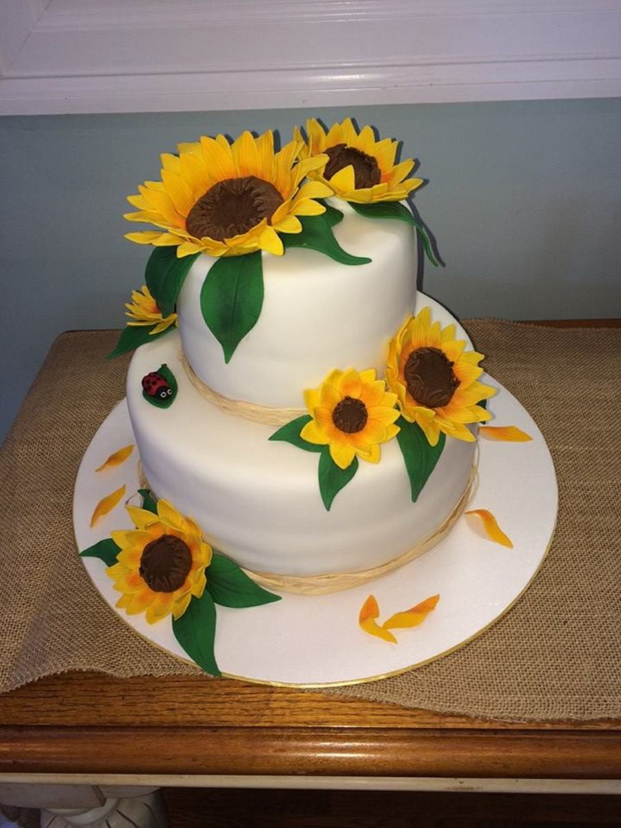 Images Of Sunflower Birthday Cakes
