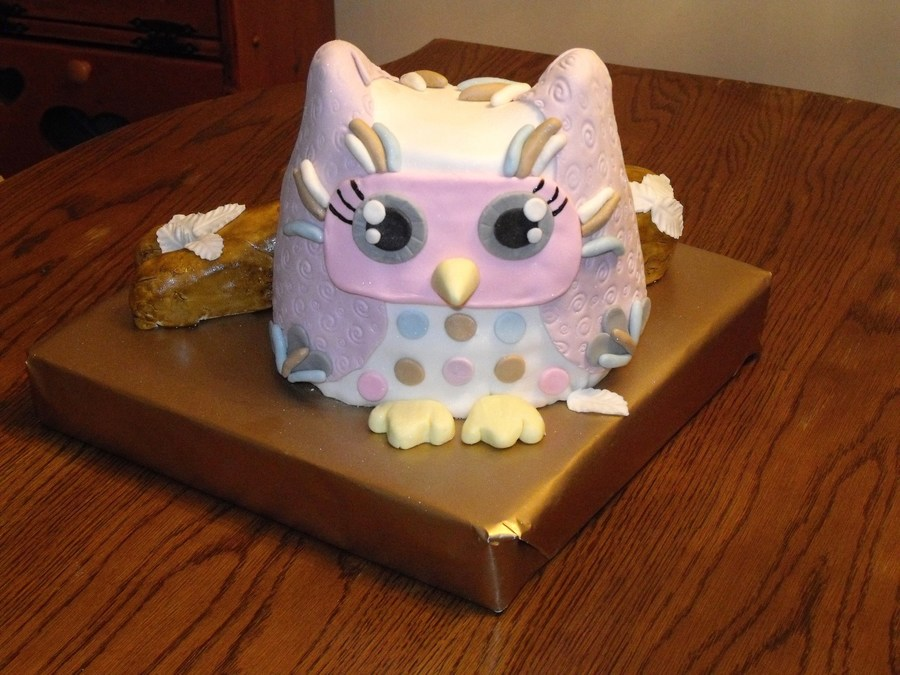 Little Owl on Cake Central