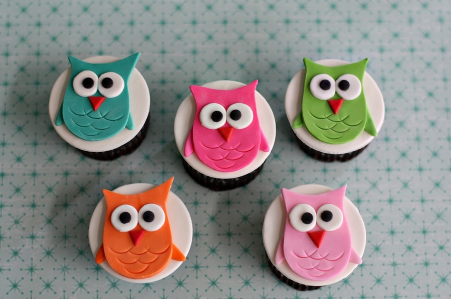 How To Make Owl Cake Decorations
