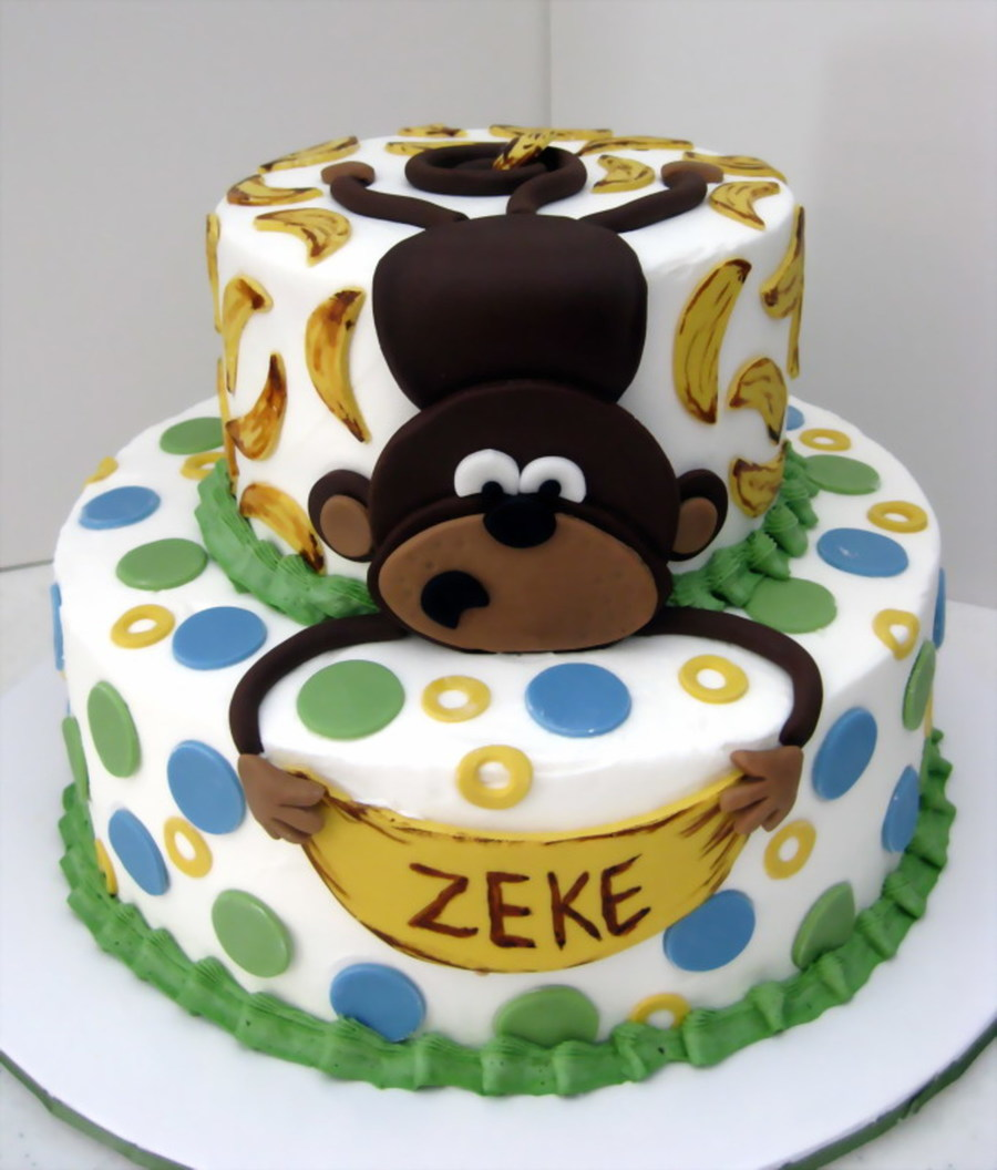 Zeke's Baby Shower Cake on Cake Central