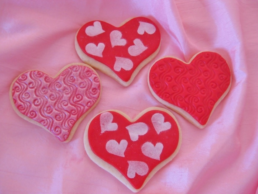Valentine Cookies on Cake Central