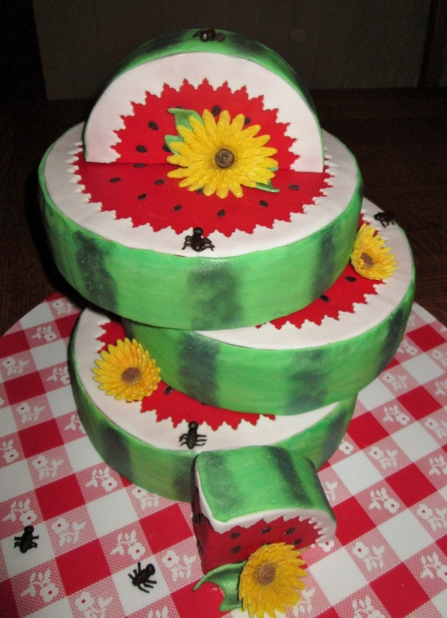 Watermelon  on Cake Central