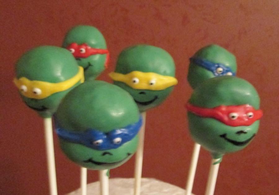 Recipe For Ninja Turtle Cake Pops