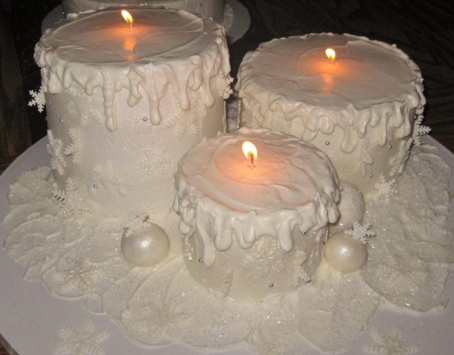 Candle Cakes on Cake Central