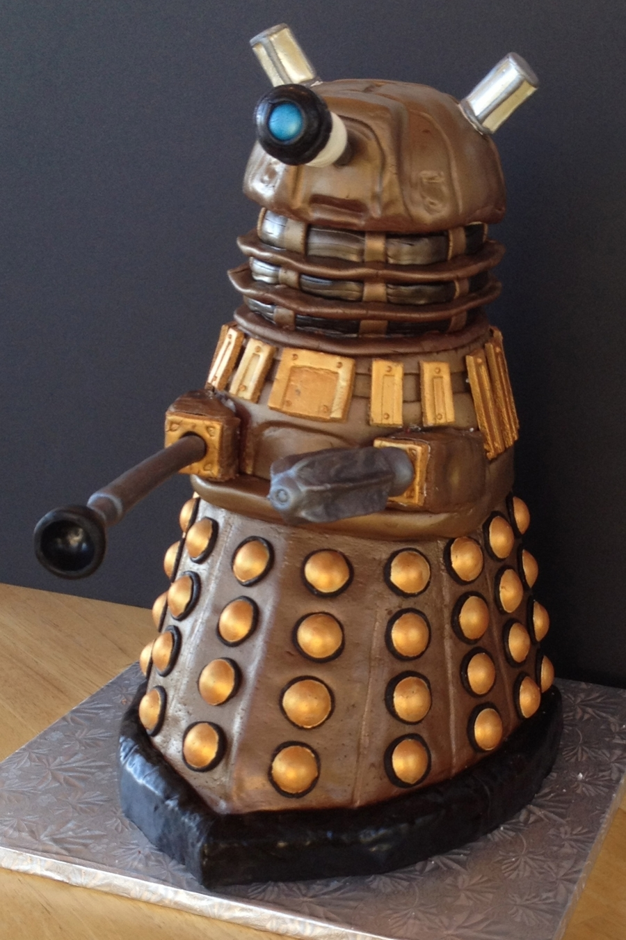 Dalek Cake - From Dr. Who on Cake Central