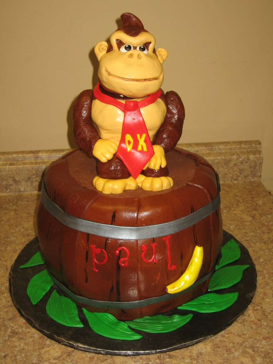 Donkey Kong on Cake Central