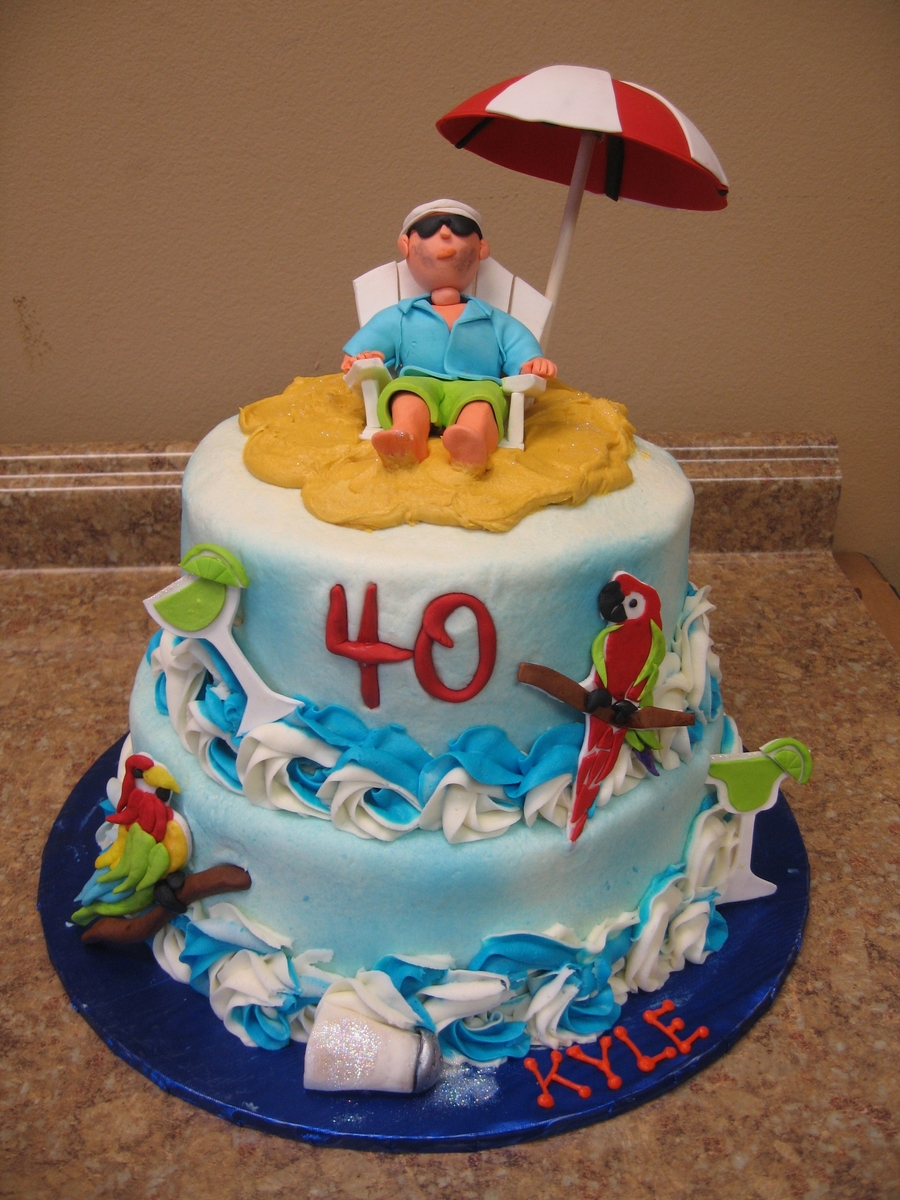 Jimmy Buffett Cake on Cake Central