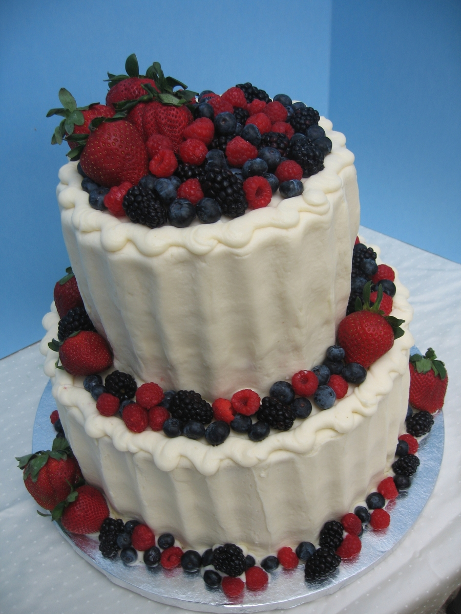 Berries And Buttercream on Cake Central