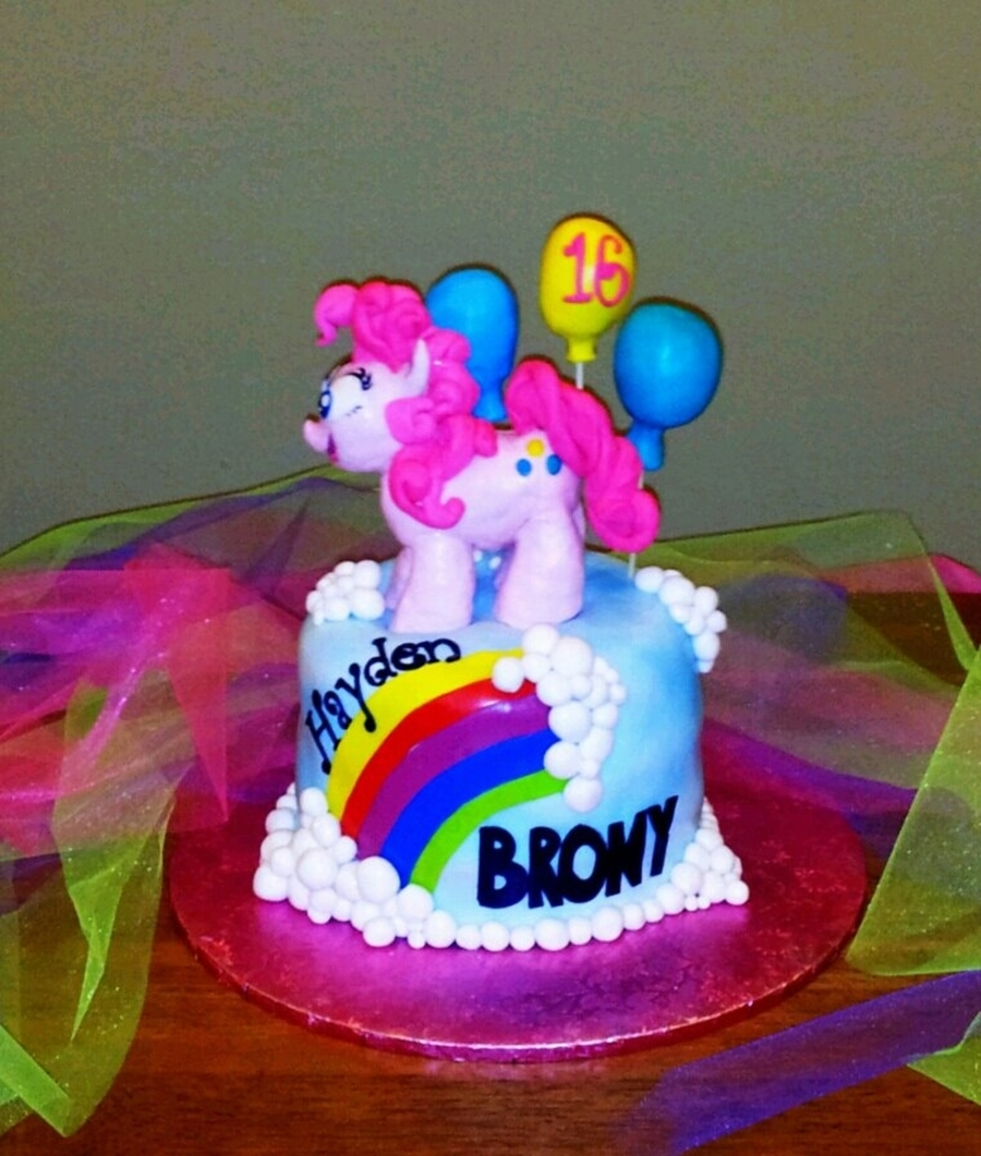 "My Little ""brony"" on Cake Central"