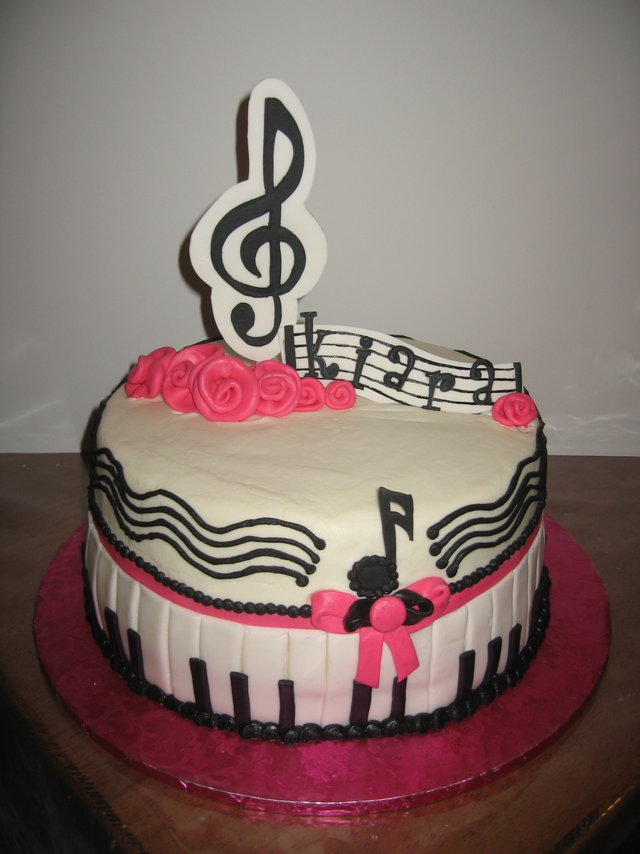 Music To My Ears on Cake Central