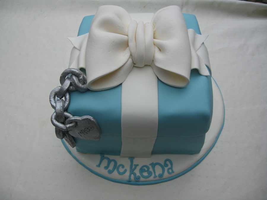 Tiffany And Co. on Cake Central