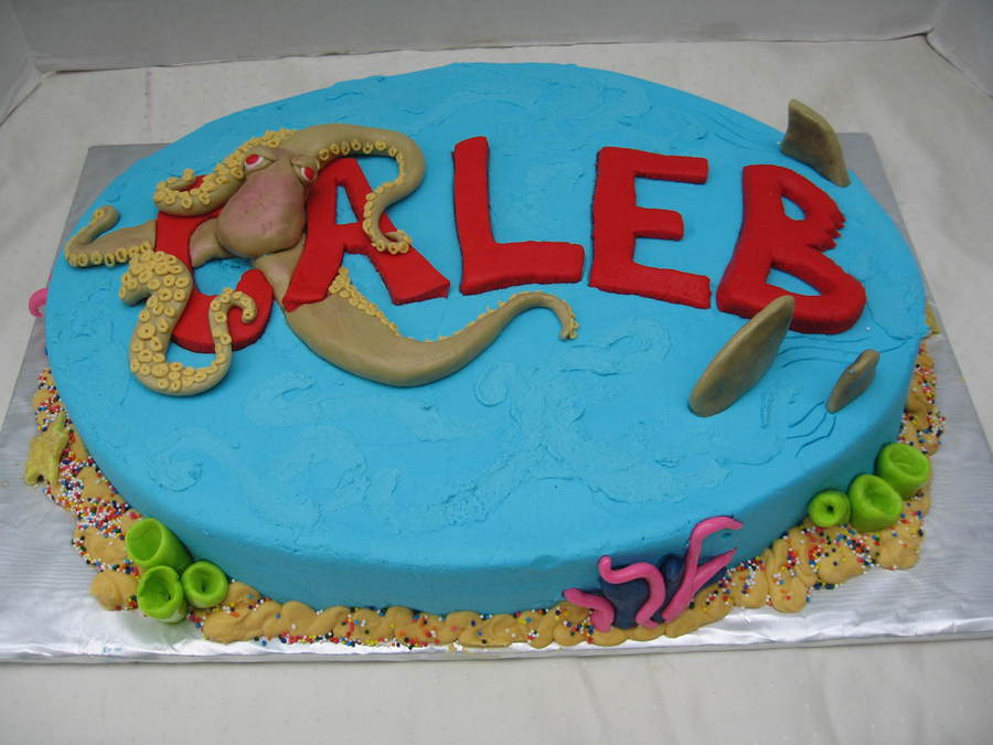 Sea Creatures on Cake Central