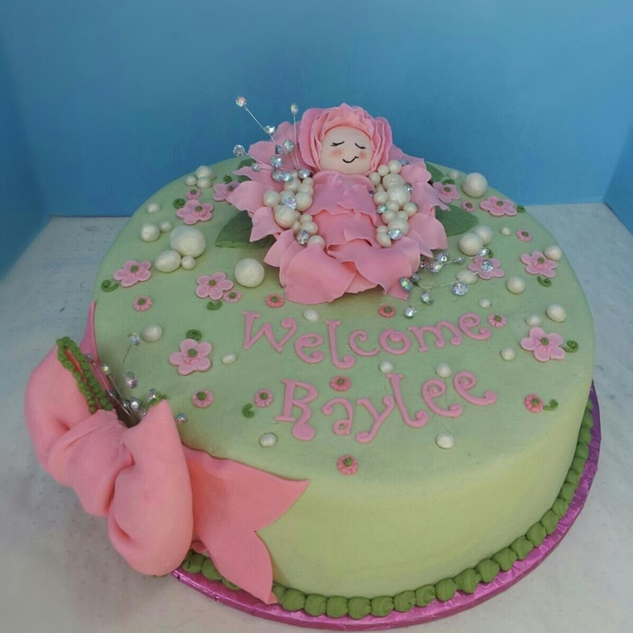 Baby Bling!  on Cake Central
