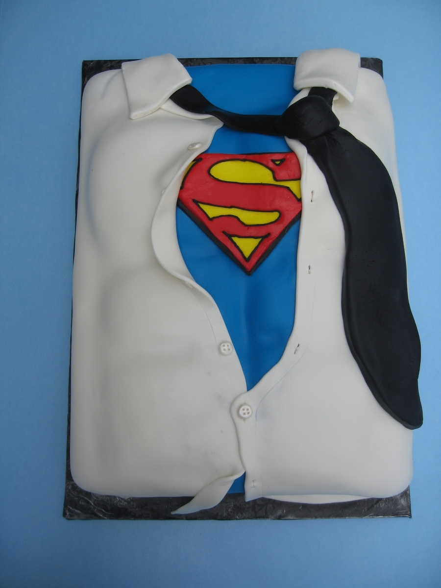 My Groom , Superman! on Cake Central