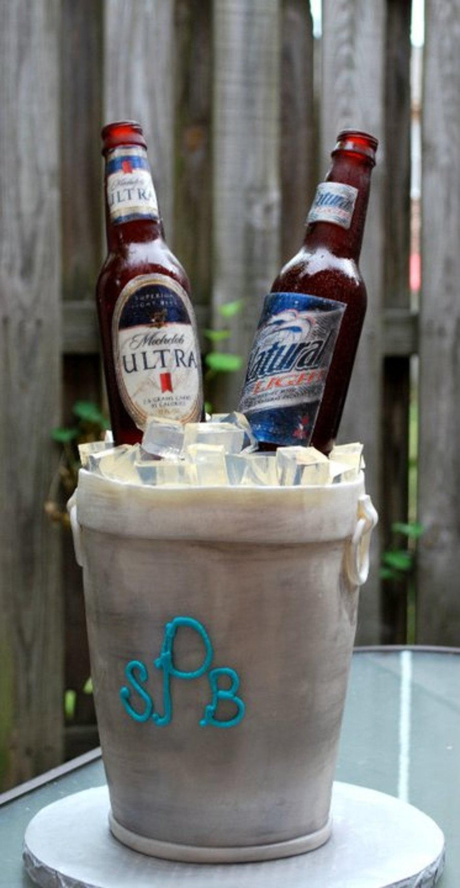Ice Bucket With Beer on Cake Central