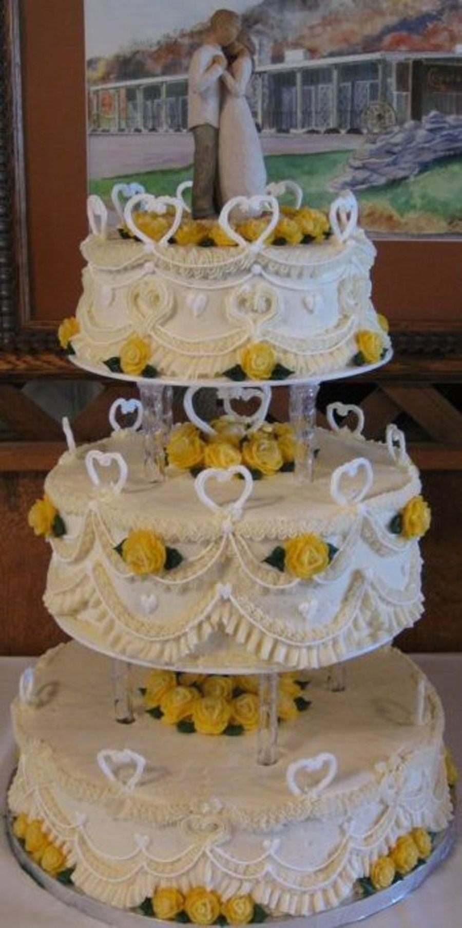 Royal Stand Up Hearts All Else Is Buttercream on Cake Central
