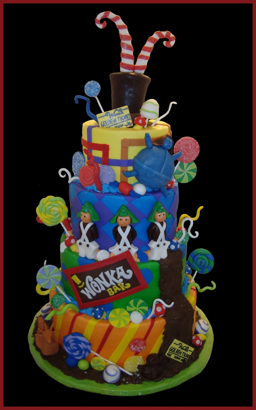 Willy Wonka / Charlie & The Chocolate Factory on Cake Central
