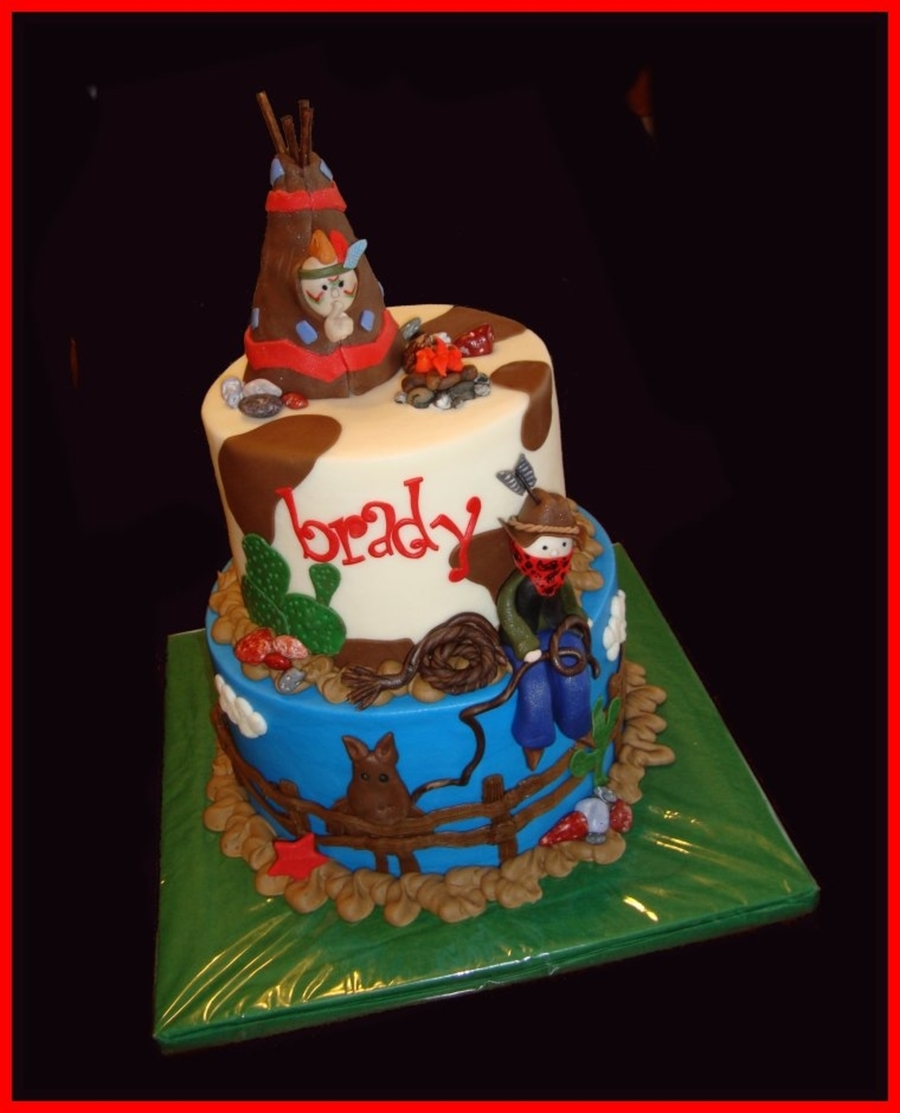 Cowboys & Indians on Cake Central